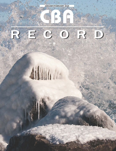 CBA Record Magazine January/February 2020