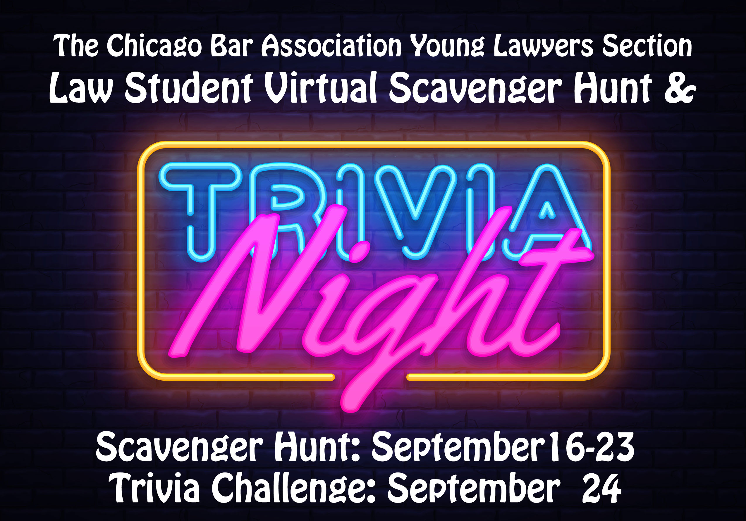 Law Student Scavenger Hunt & Trivia Night